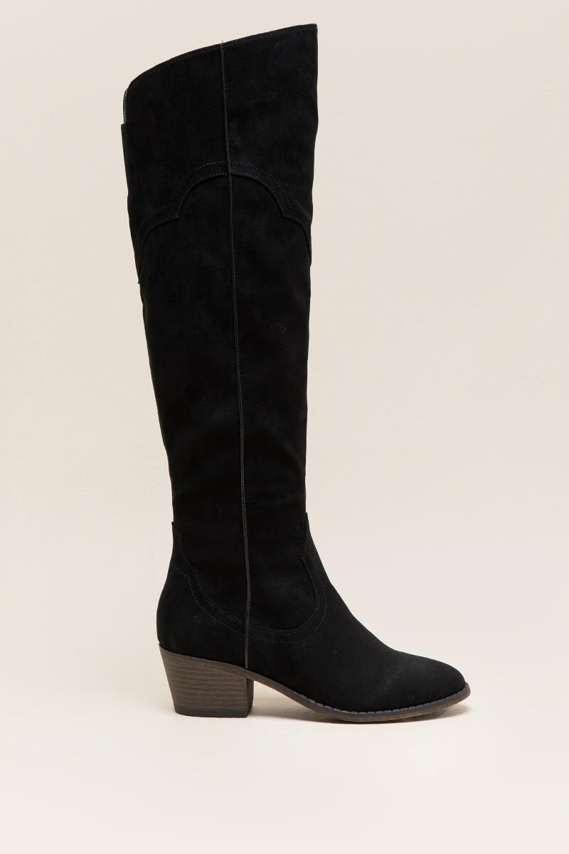 Fergalicious Bata Over the Knee Boot-  blk-clright