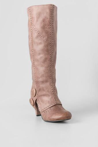 Bdad Knee High Heel Cuffed Boot