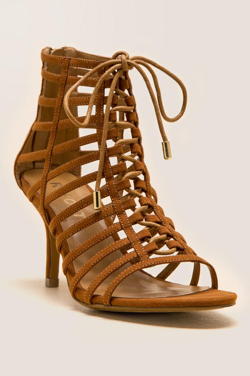 7f5283e1f833 Report - Berner Lace-Up Caged Heel- tan-cl