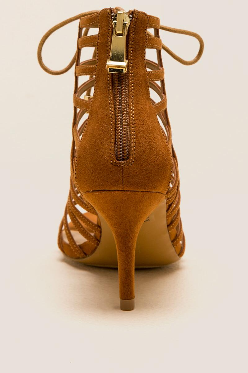 5d72655c93ae Report - Berner Lace-Up Caged Heel- tan-clback