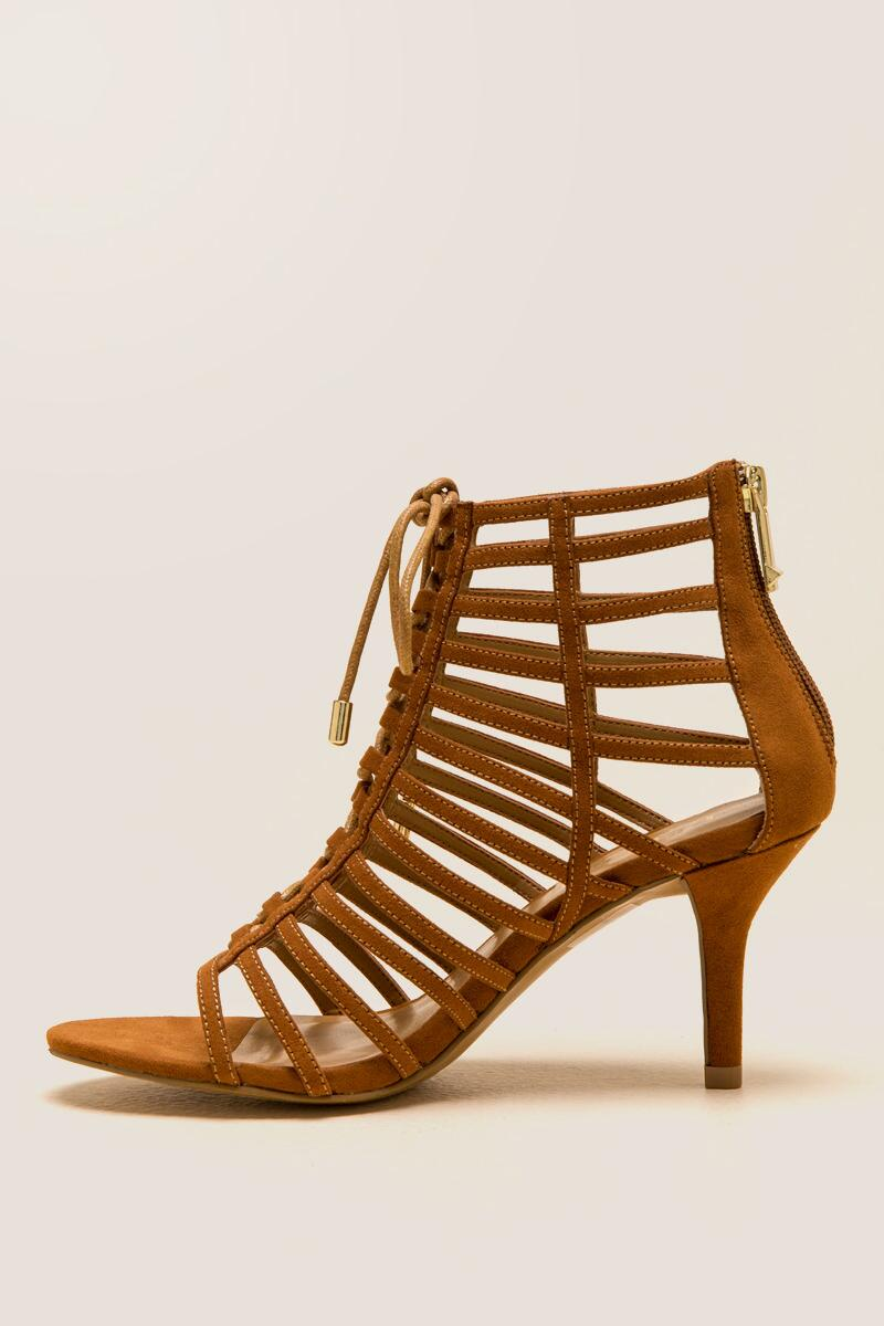 05f2dffe9a97 Report - Berner Lace-Up Caged Heel- tan-clleft