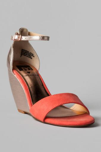 BC Loves Fran Shoes, Bounce Wedge Sandal