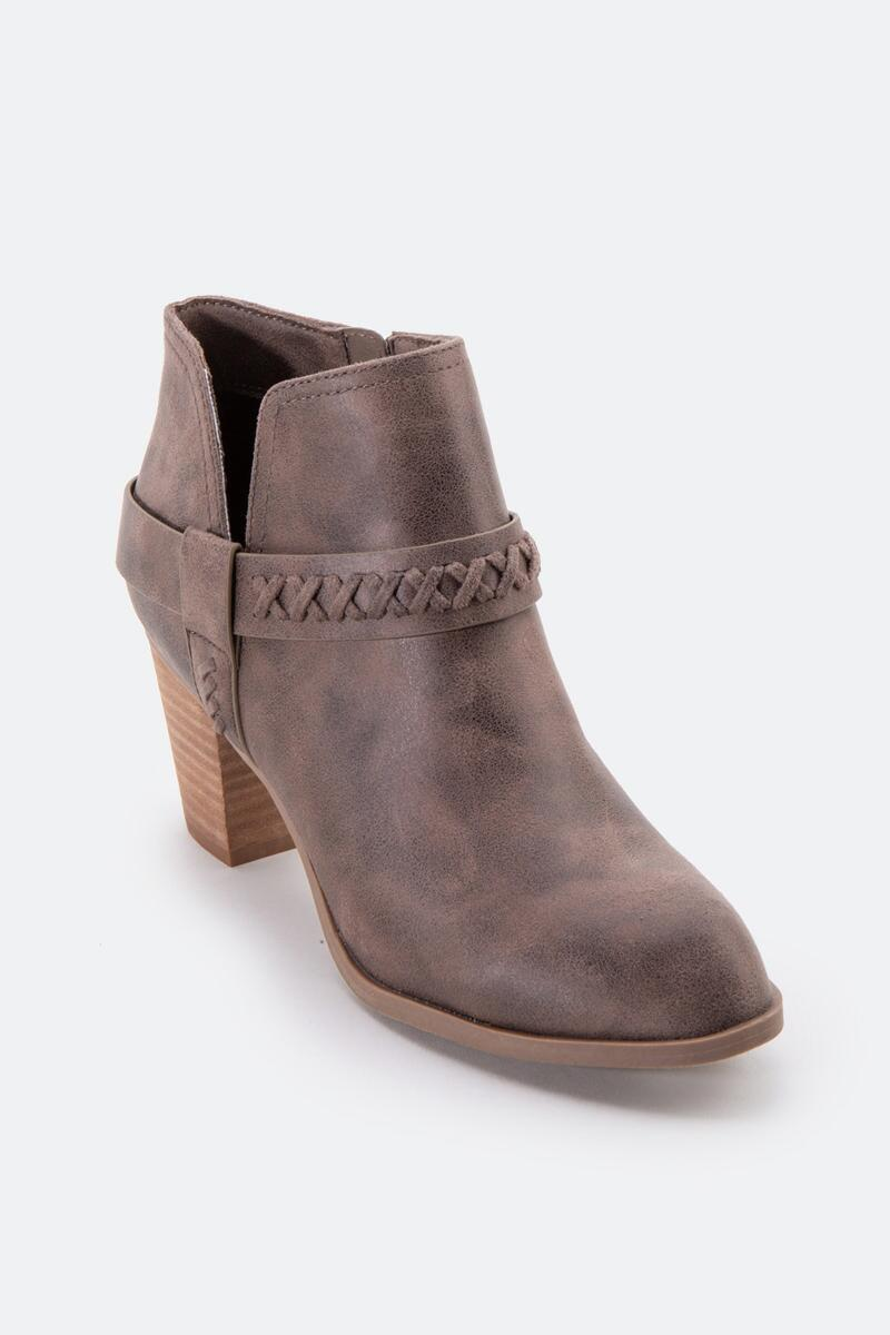 Report Carl Chop Out Side Ankle Boot-  taupe-cl