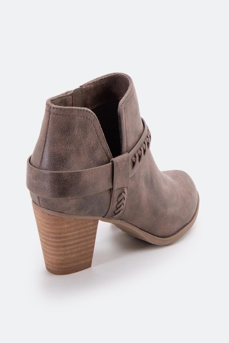Report Carl Chop Out Side Ankle Boot-  taupe-cl2