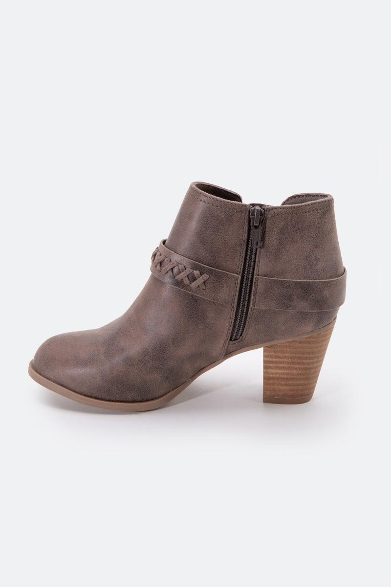Report Carl Chop Out Side Ankle Boot-  taupe-cl3