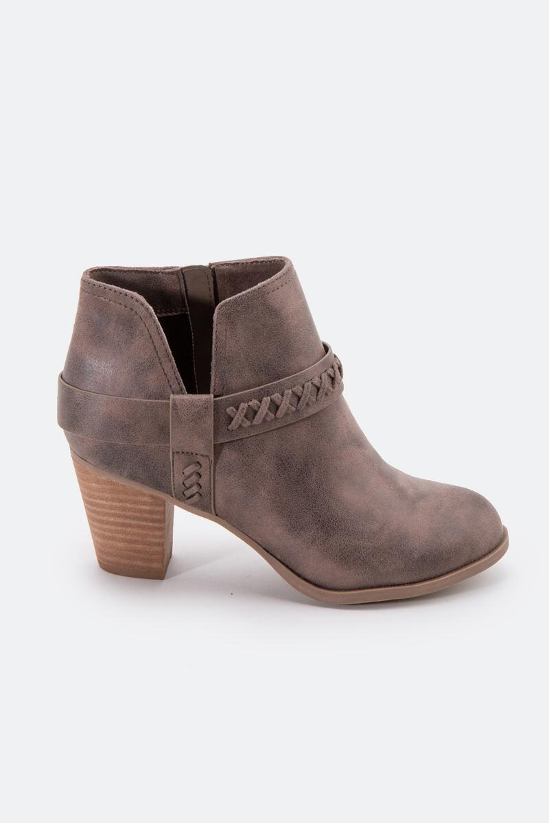 Report Carl Chop Out Side Ankle Boot-  taupe-cl4