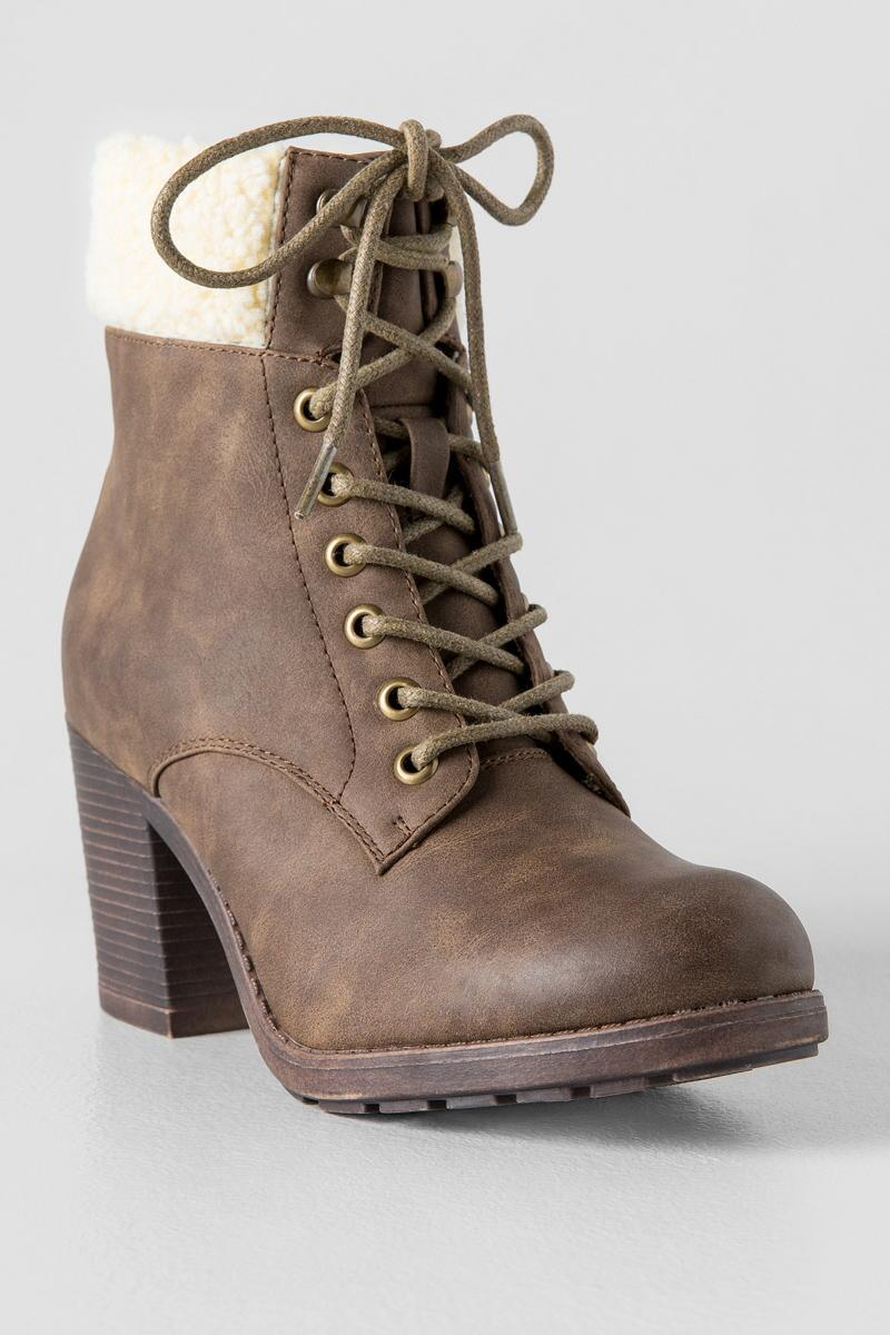 Carol Lace Up Boot