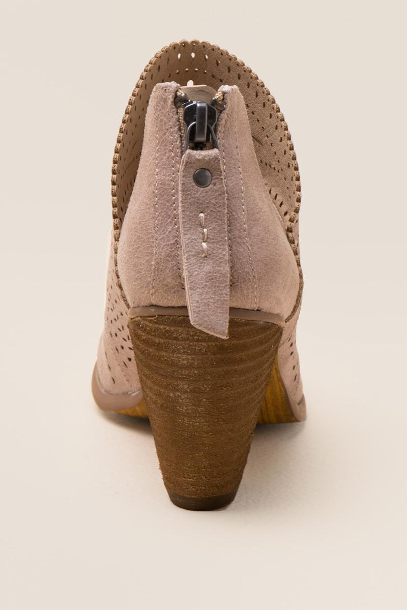 Not Rated Cinati Ankle Boot-  cream-clback