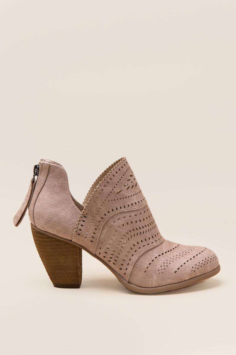 Not Rated Cinati Ankle Boot-  cream-clright