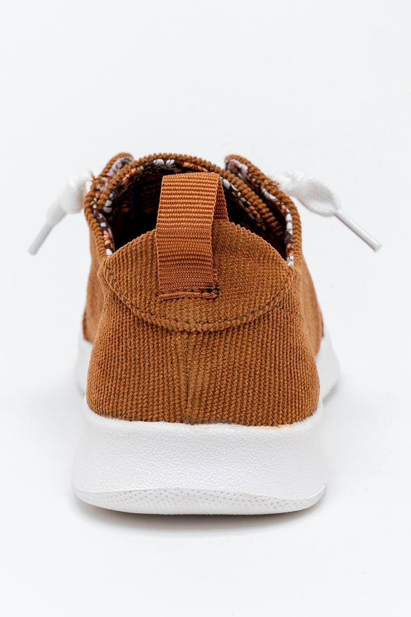 Very G Cody Corduroy Sneaker-  tan-cl2