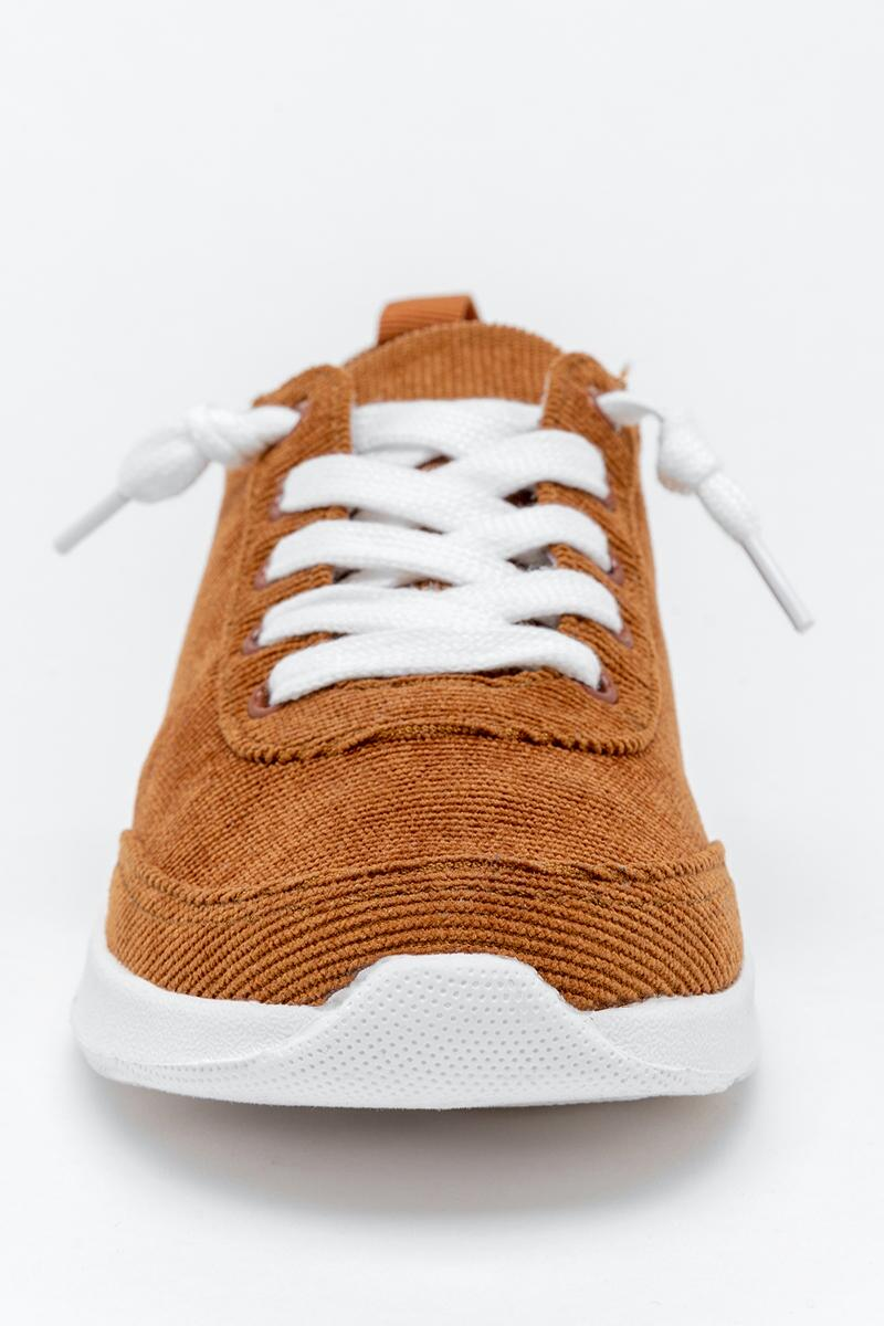 Very G Cody Corduroy Sneaker-  tan-cl3
