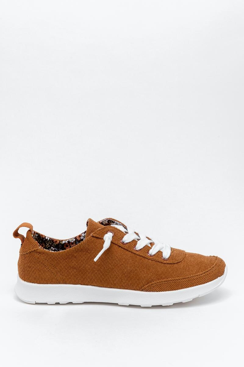 Very G Cody Corduroy Sneaker-  tan-cl5
