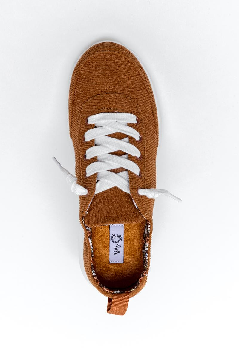 Very G Cody Corduroy Sneaker-  tan-cl6