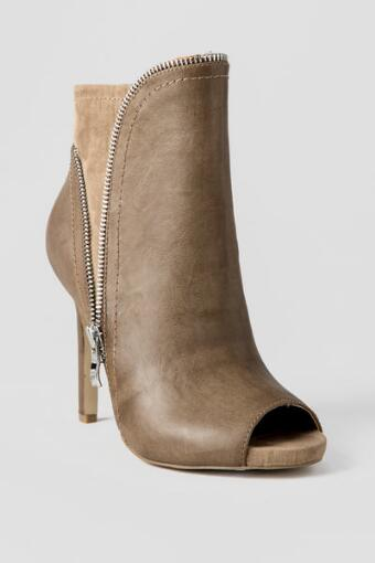 MIA Shoes, Couture Peep Toe Booties