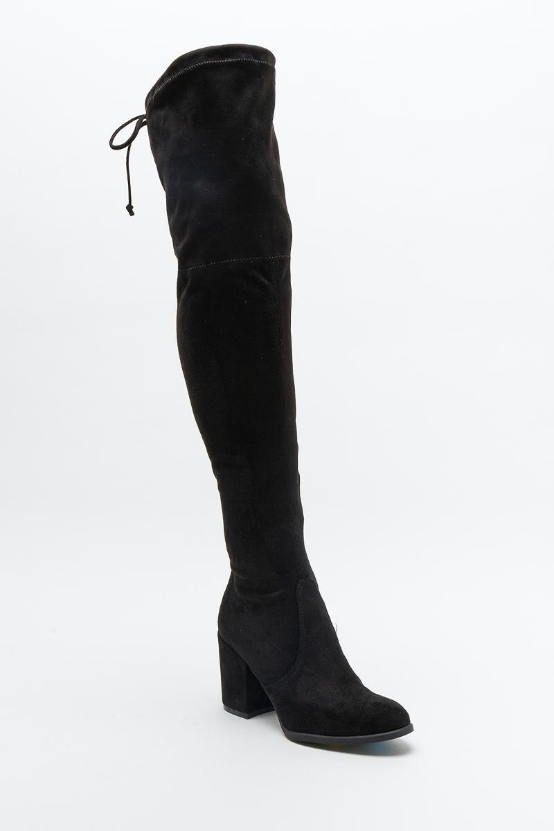 UNISA® Dedrii Over the Knee Boot-  blk-cl