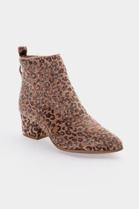 Very G Dynamite Ankle Boot - Leopard