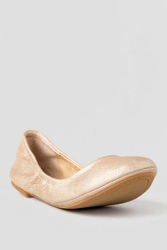 Lucky Brand Shoes, Emmie Ballet Flat in Gold
