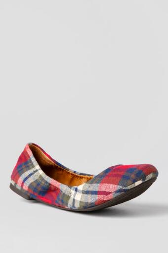 Lucky Brand Shoes, Emmie Plaid Ballet Flat