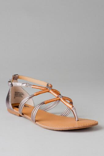 BC Footwear Shoes, Fast Lane Two-Tone Sandal