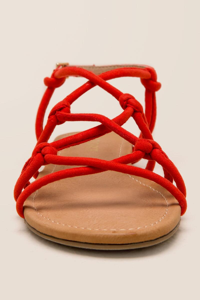 Report Gail Knotted Strappy Sandal-  org-clfront