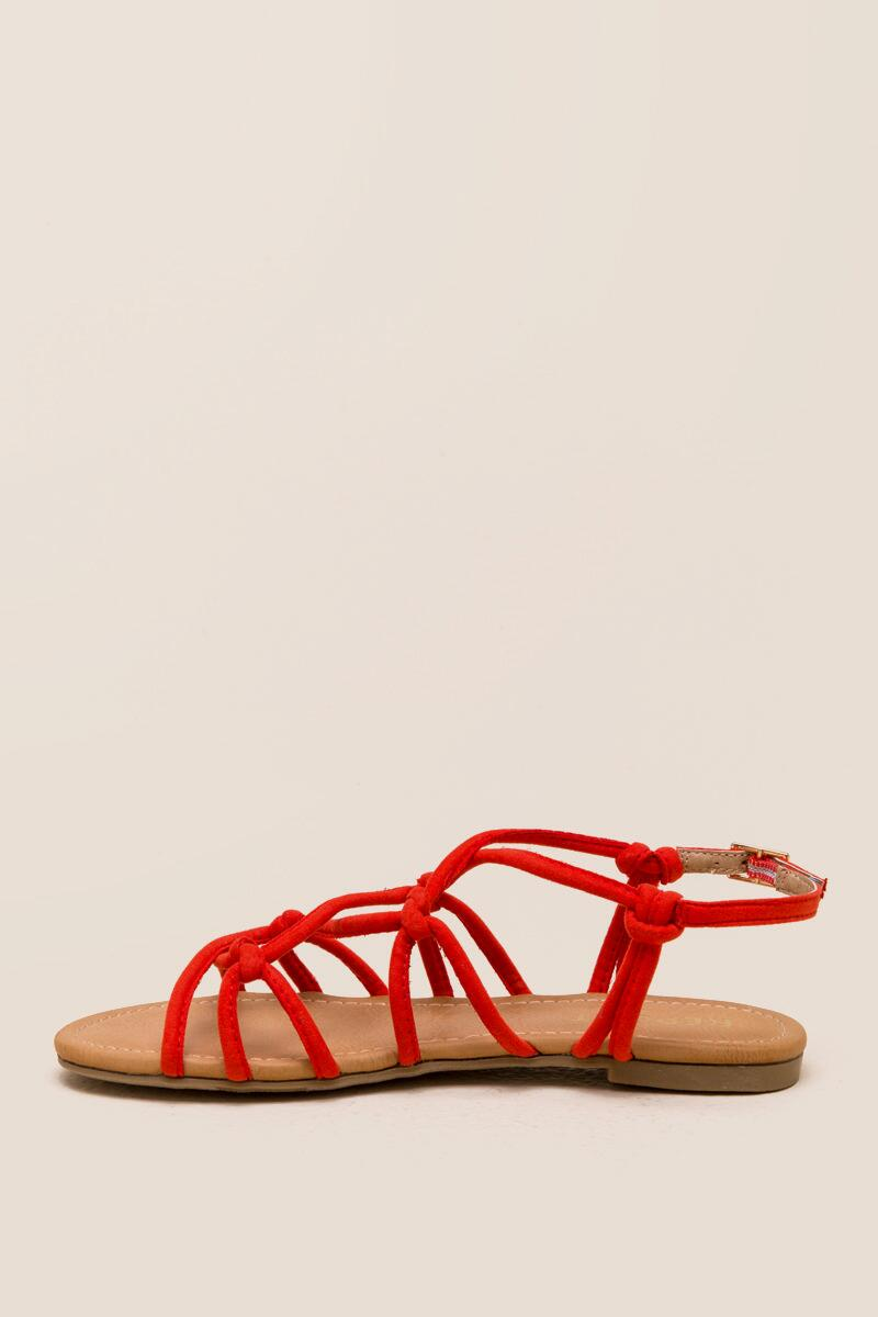 Report Gail Knotted Strappy Sandal-  org-clleft