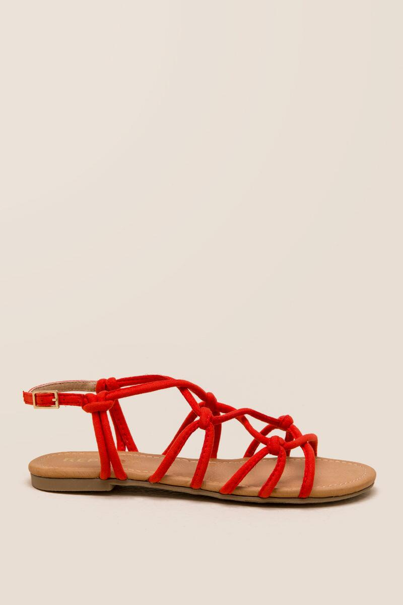 Report Gail Knotted Strappy Sandal-  org-clright