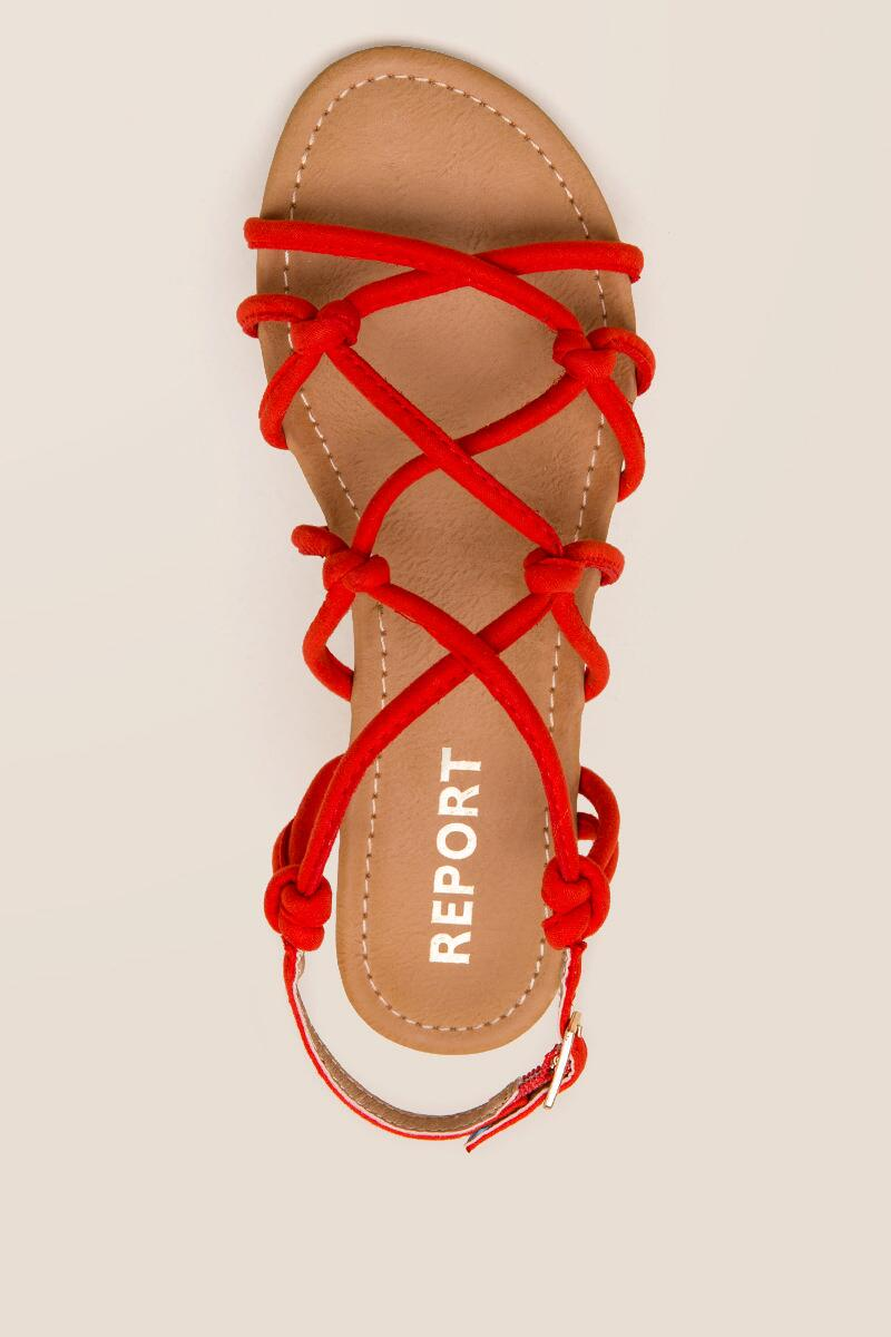 Report Gail Knotted Strappy Sandal-  org-cltop