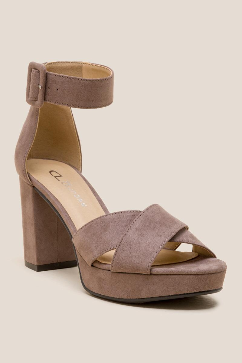 Solid CL by Laundry Gala Platform Heel | francesca's