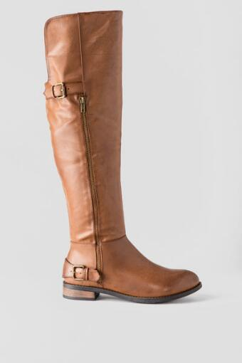 Gear Up Over the Knee Boot
