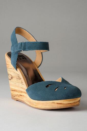 BC Footwear Shoes, Good Fun Wooden Wedge