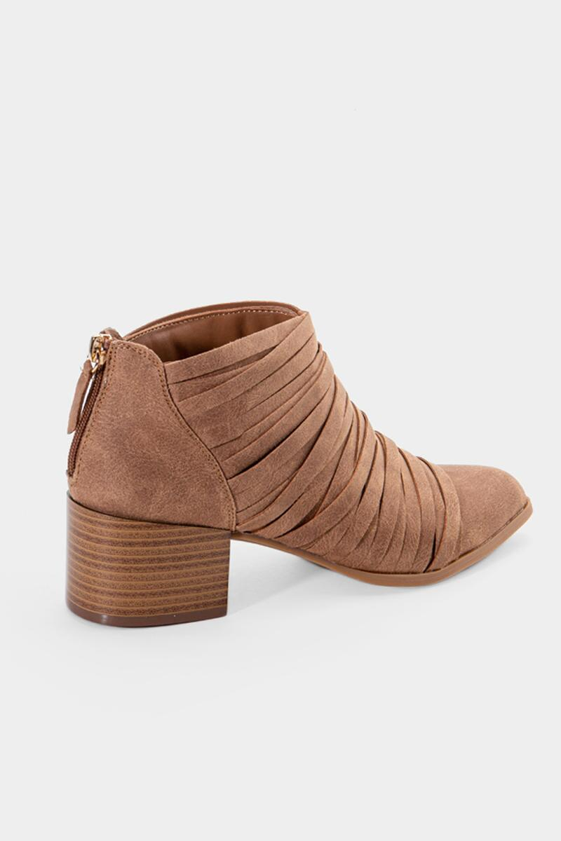 Fergalicious Iggy Cut Straps Ankle Boot-  tan-cl2