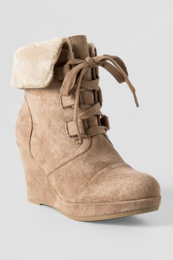 By Report, Justise Wedge Booties