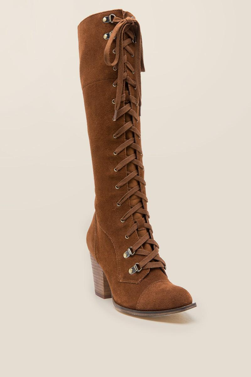 Chinese Laundry - Keepsake Lace-Up Suede Boot