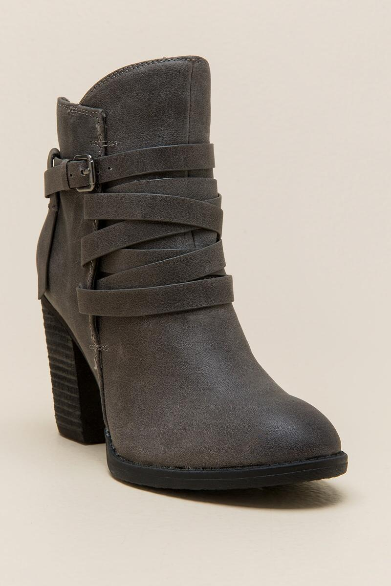 Not Rated Manto Distressed Ankle Boot