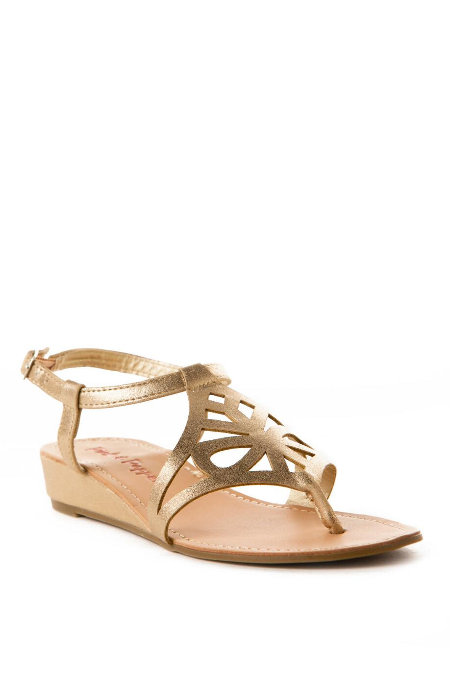 Pink and Pepper Shoes, Myia Wedge Sandal