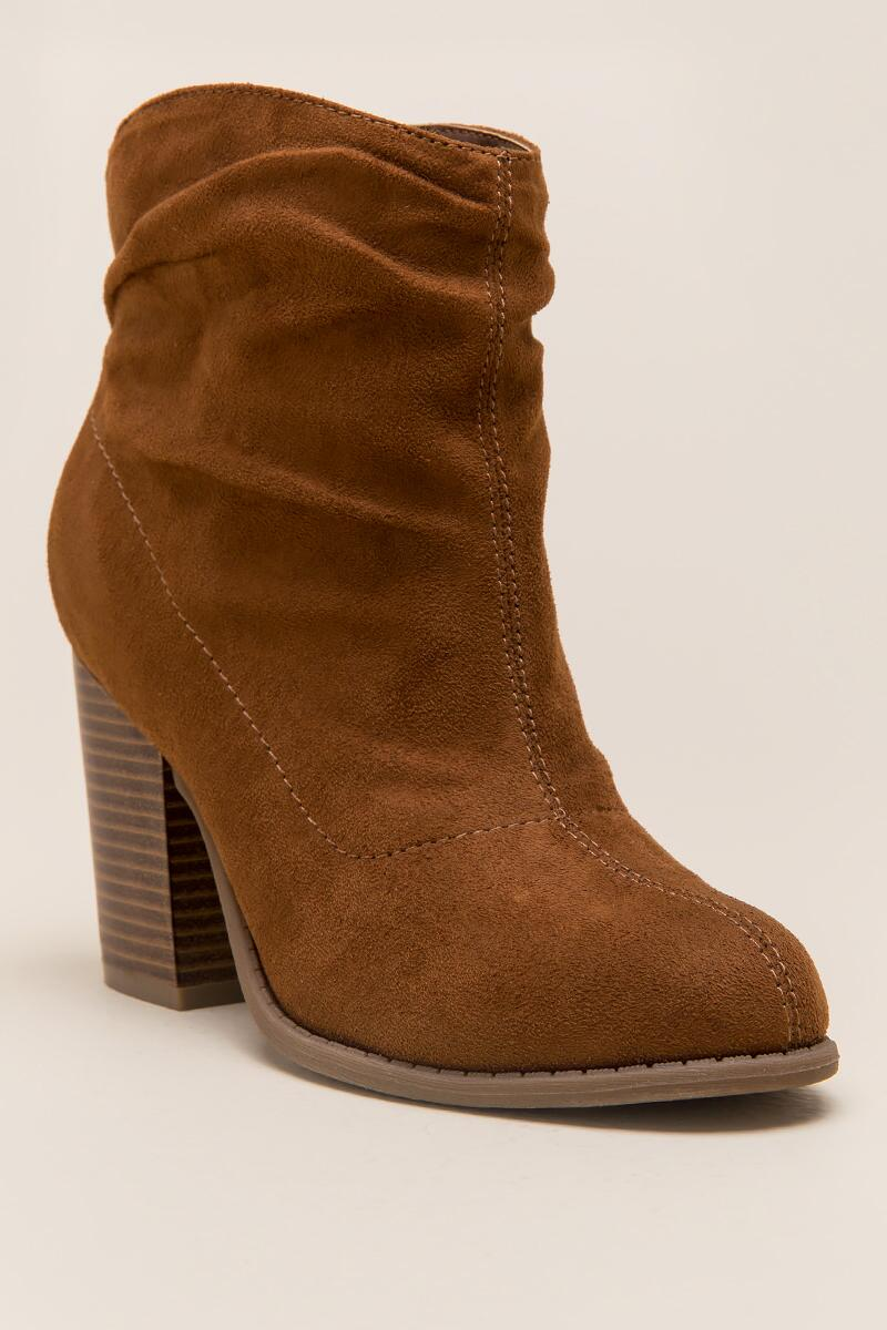 Indigo Rd. - Obie Slouchy Ankle Boot-  tan-cl