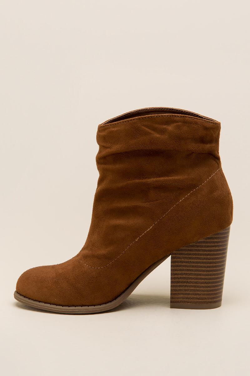 Indigo Rd. - Obie Slouchy Ankle Boot-  tan-clleft