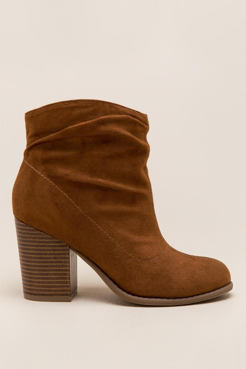 Indigo Rd. - Obie Slouchy Ankle Boot-  tan-clright
