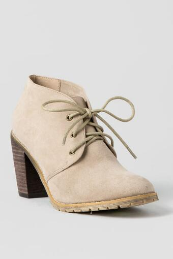 Penny Lace Up Bootie