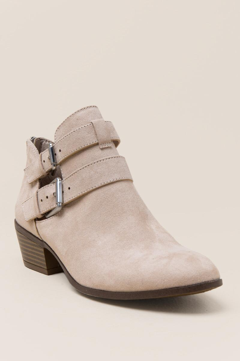 Portia Double Belted Ankle Boot