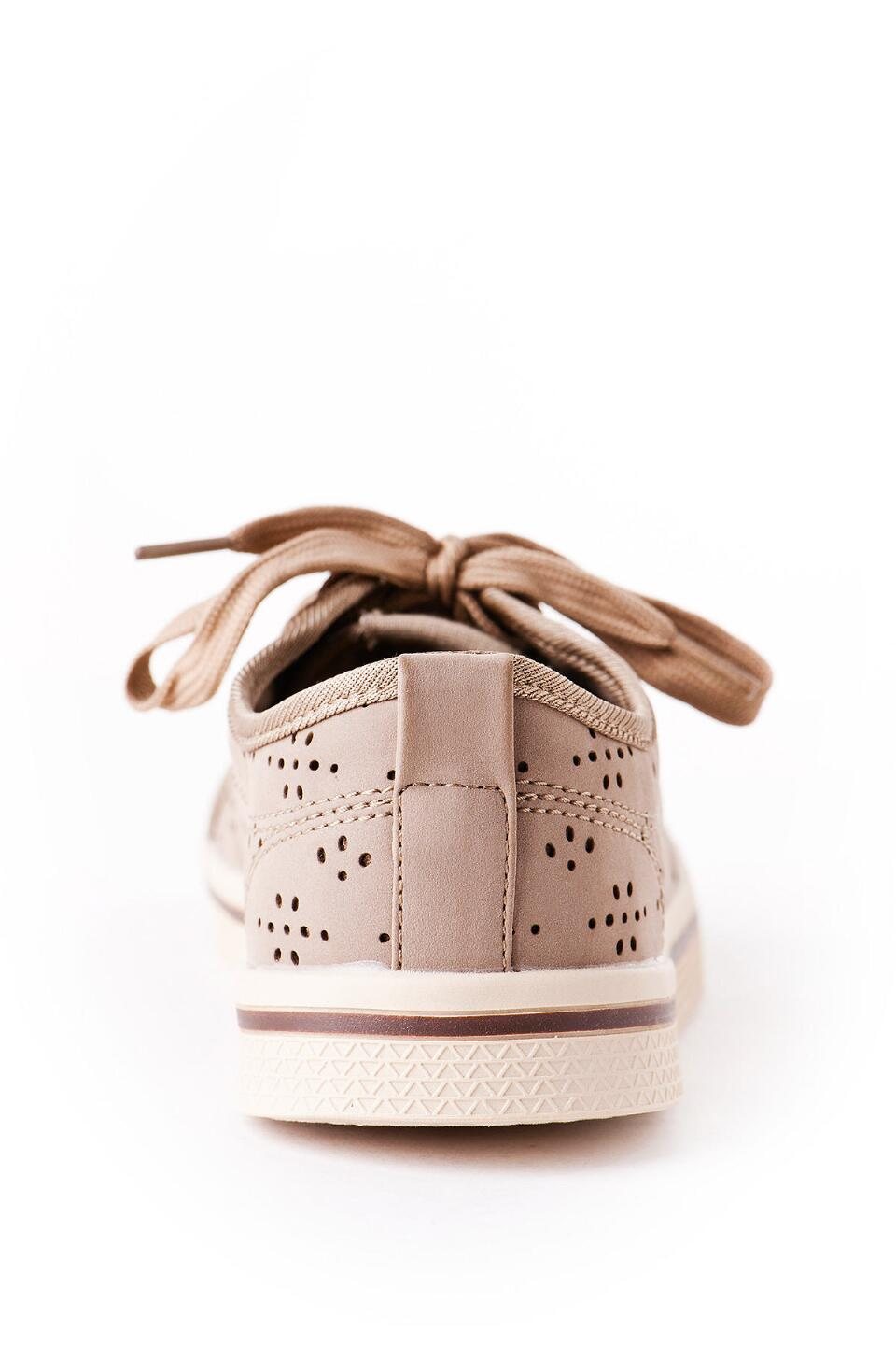 Slope Lace Up Sneaker in Taupe-  nat-clback