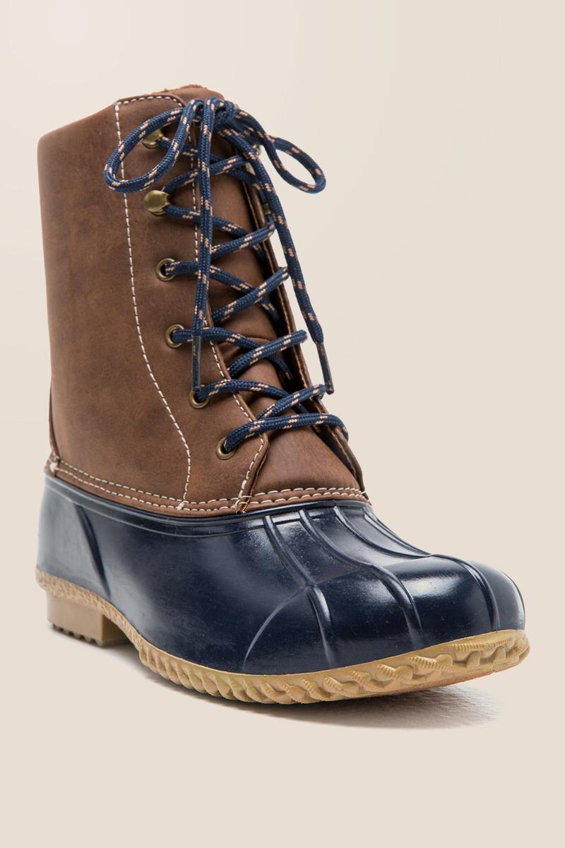 Squall Two-Tone Duck Boot
