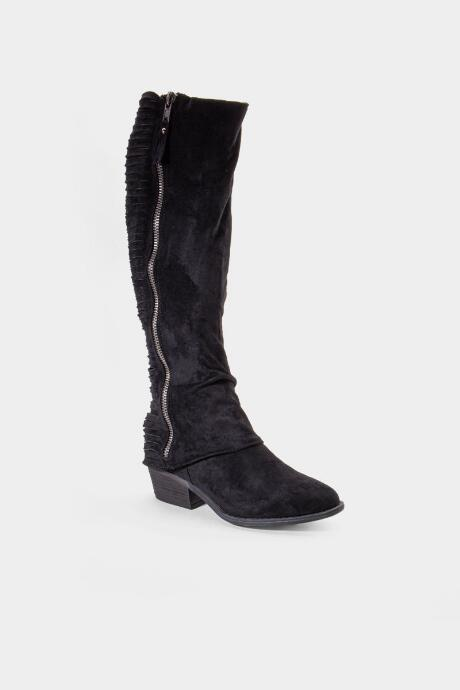Very G Strips Galore Riding Boot - Black