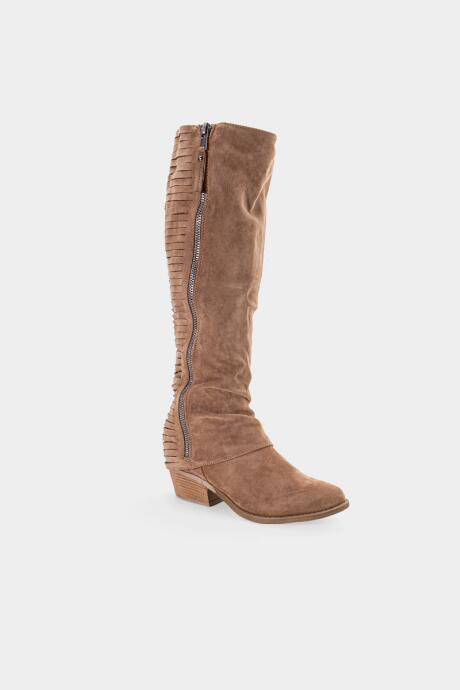 Very G Strips Galore Riding Boot - Taupe