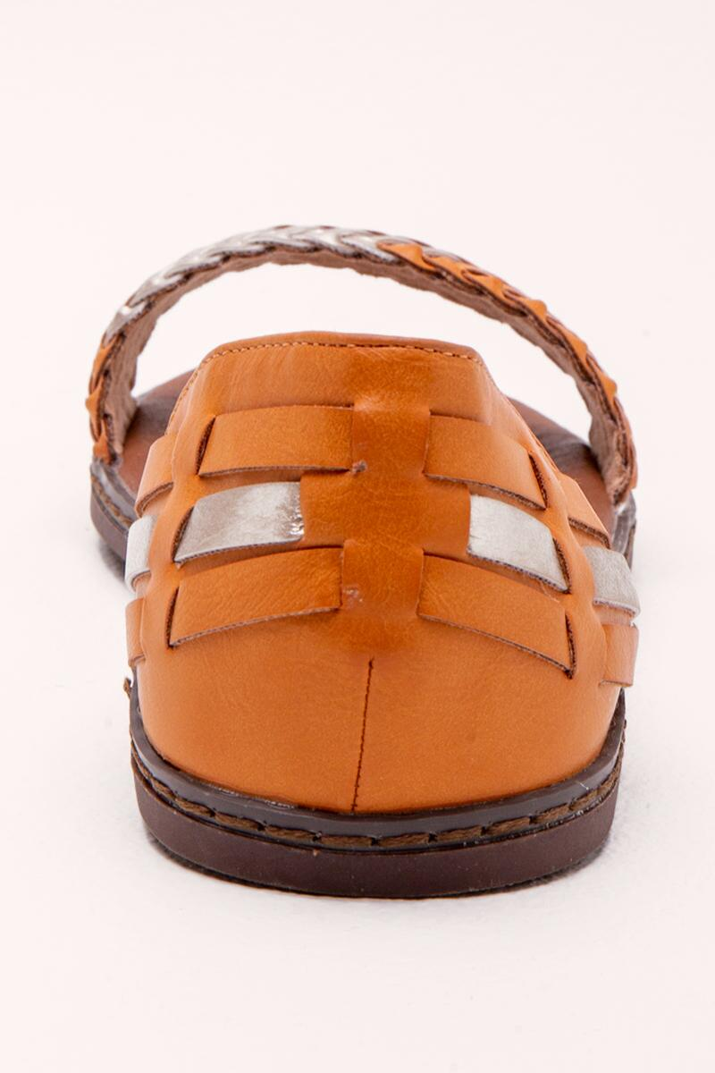 Very G Braided Sandal- Tan 2
