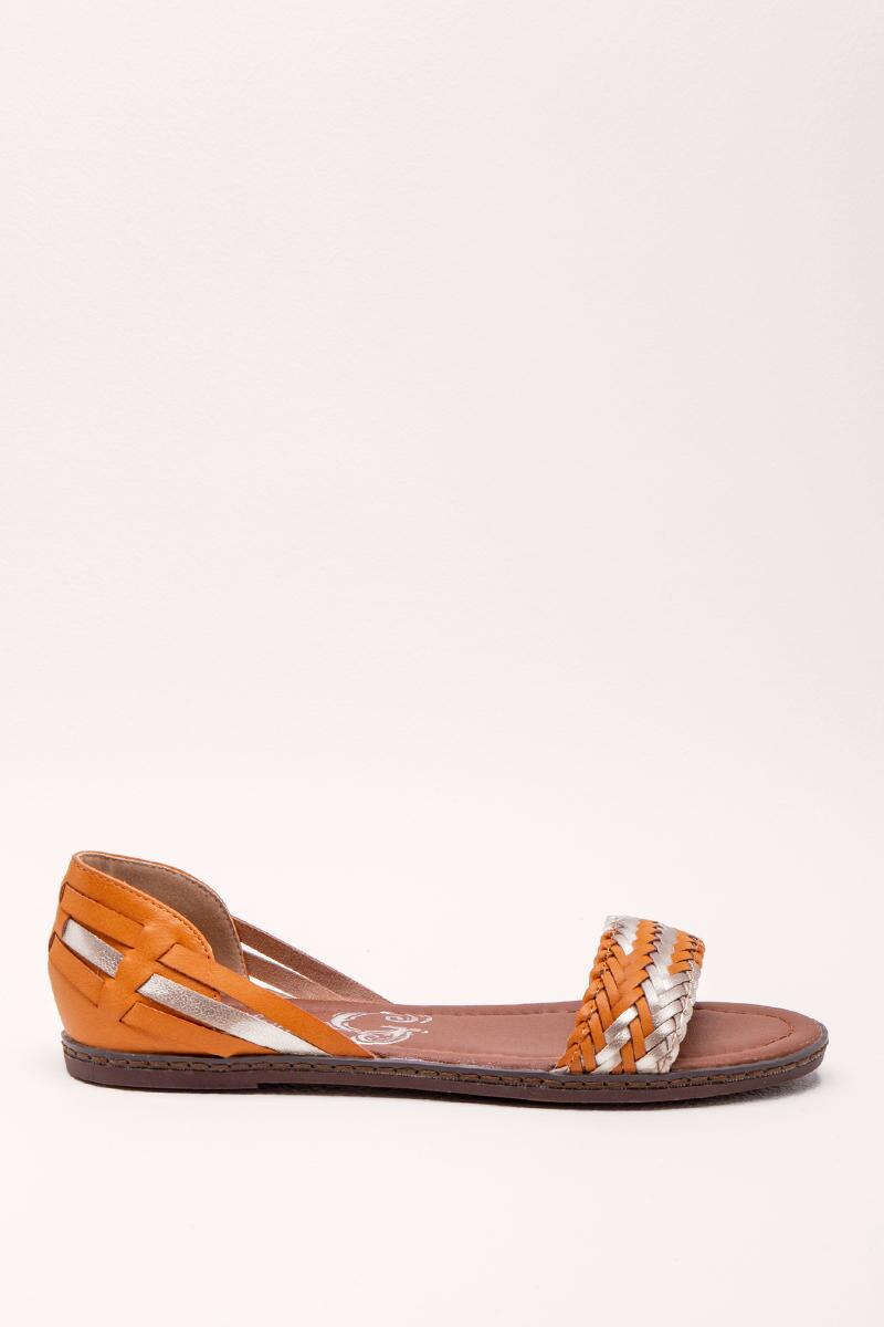 Very G Braided Sandal- Tan 5