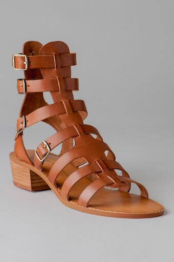 Chinese Laundry Shoes, Take Down Gladiator Sandal in Cognac