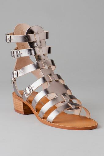 Chinese Laundry Shoes, Take Down Gladiator Sandal in Pewter