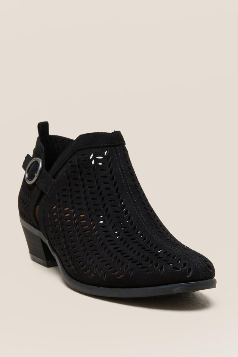 Tranquile Buckle Ankle Boot