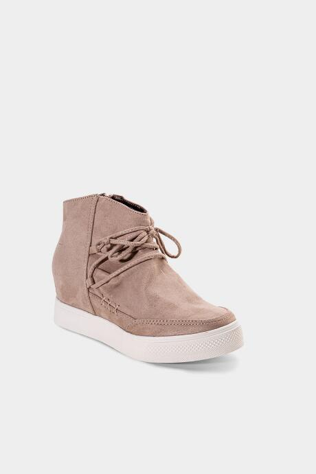 Very G Ursula Wedge Sneaker - Taupe